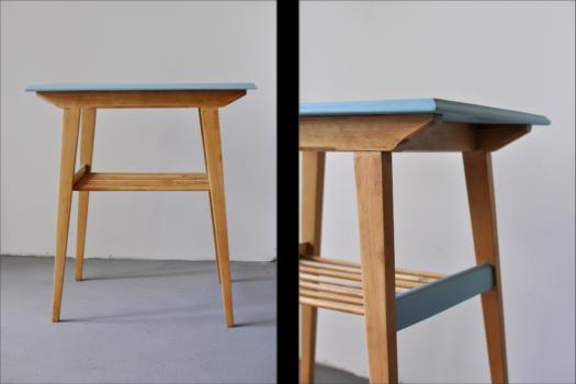 stolik niebieski 2